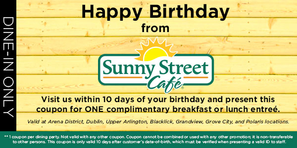 birthday offers just for you mix 107 9mix 107 9